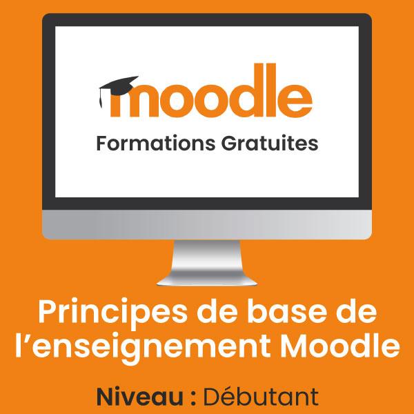 Principes de bases de l'enseignement Moodle